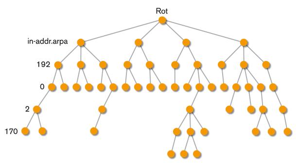 Figur 8. IP-adressen 192.0.2.170 i in-addr.arpa-domänen.