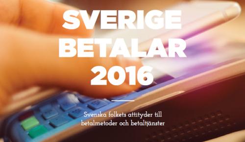 Sverige betalar 2016