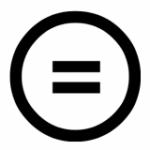 Symbol för cc-licensen Inga bearbetningar