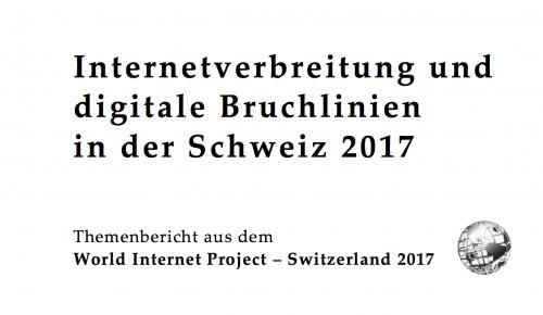 World Internet Project Switzerland 2017