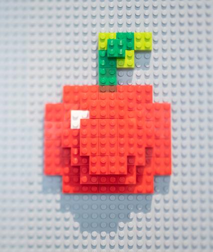 Frukt av lego.