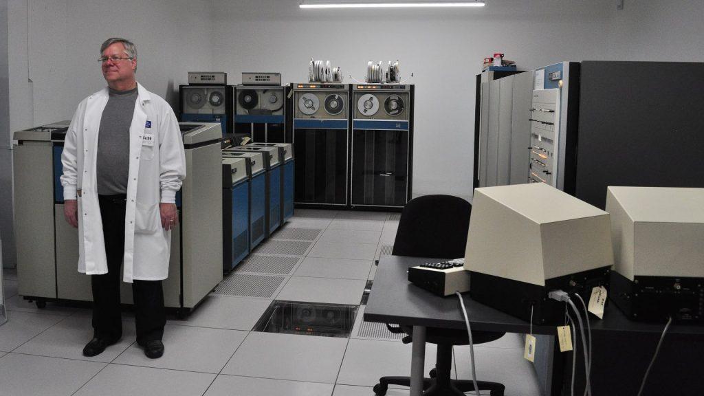 XDS Sigma 9-dator utställd på museum.