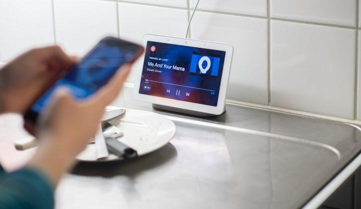 google assistent i köket, om internetstiftelsen