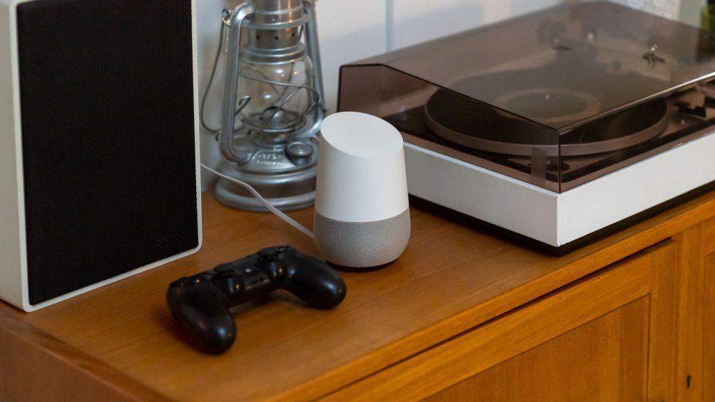 Spel, google home i smart hem