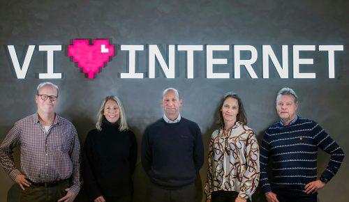 Ledningsgruppen för Internetstiftelsen.