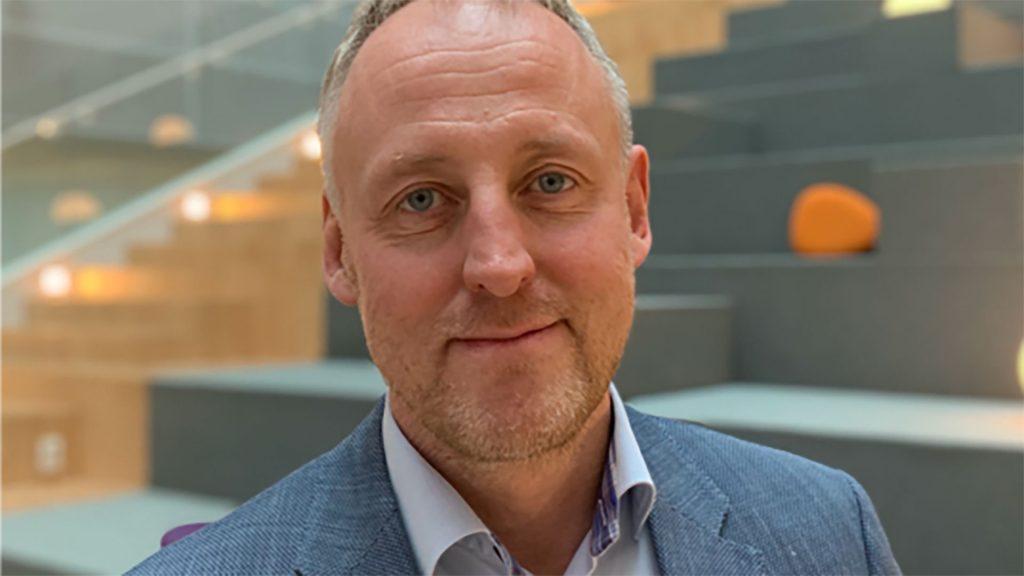 Porträtt av Staffan Åkesson, teknikchef på Telia