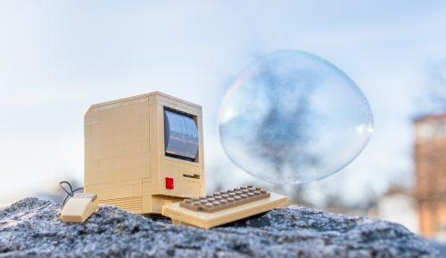 dator med bubbla