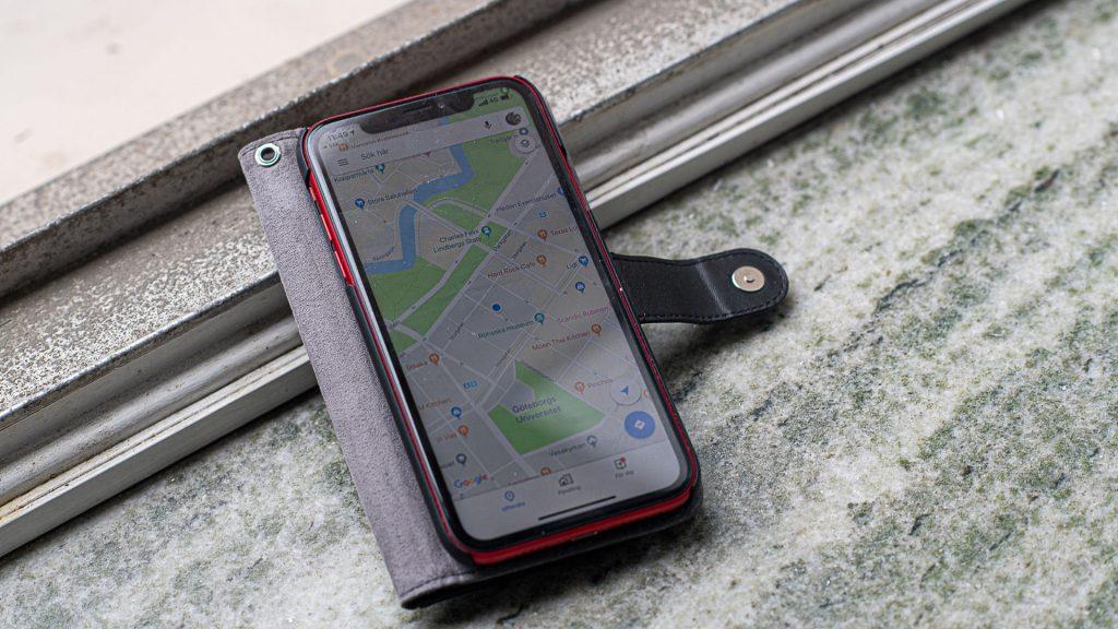 mobil med googlemaps