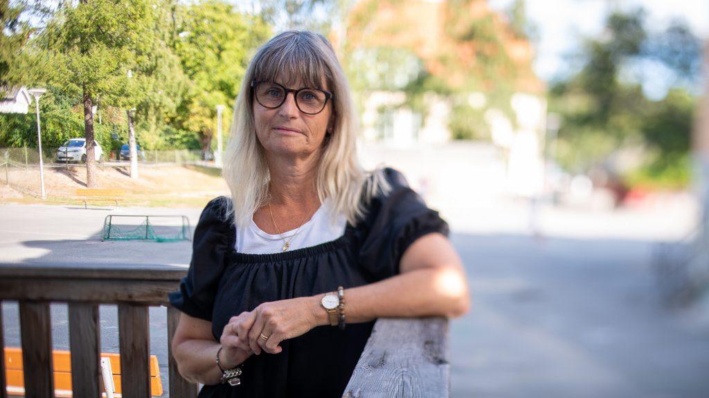 Eva Olsen, lärare Solhemsskolan