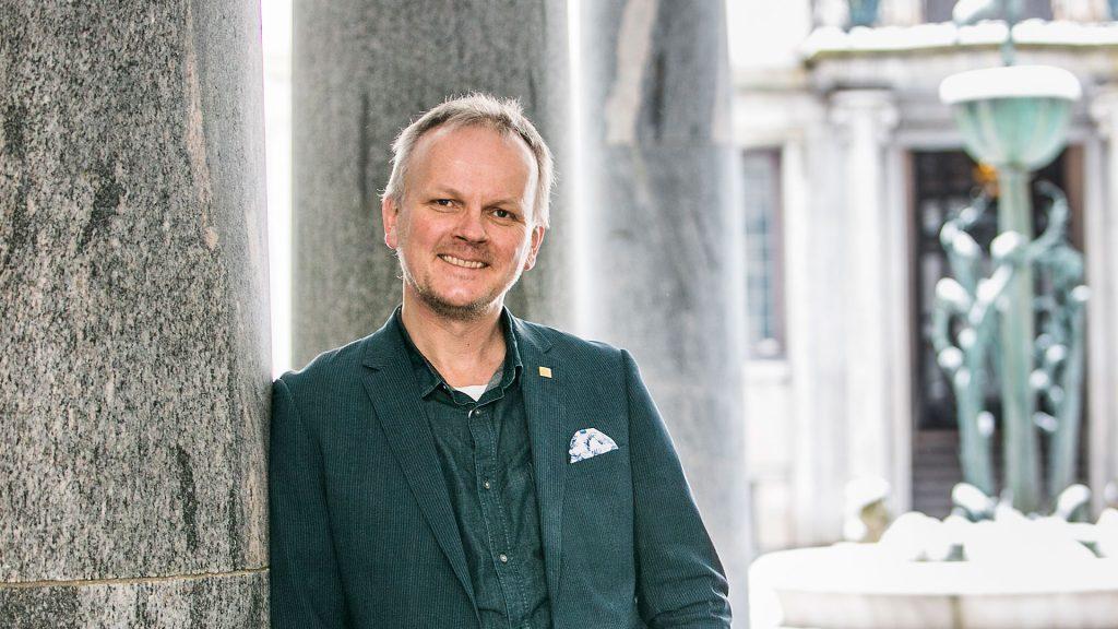 Porträtt av Jan Gulliksen vice rektor digitalisering KTH