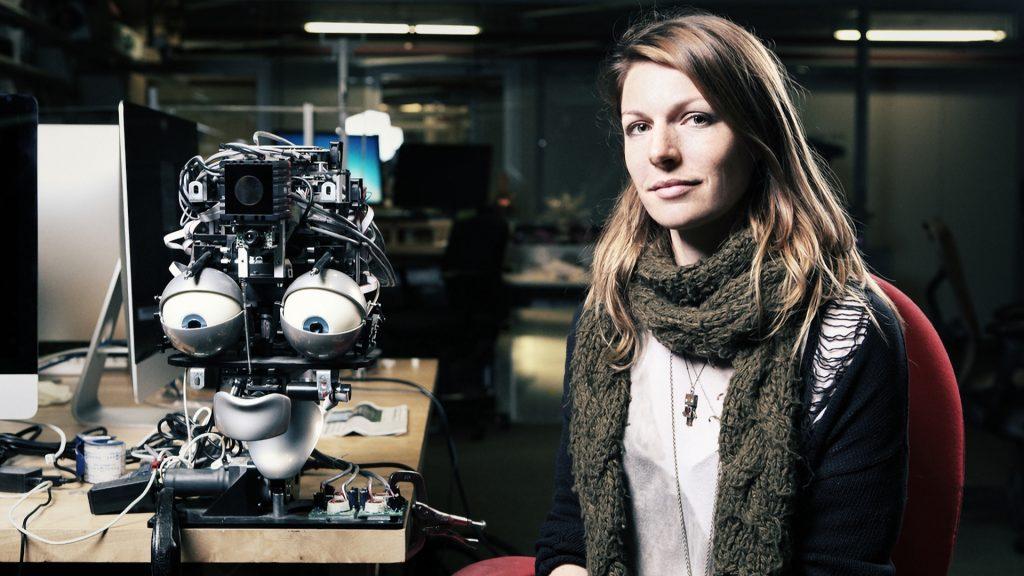 Robotforskaren Kate Darling på MIT Media Lab