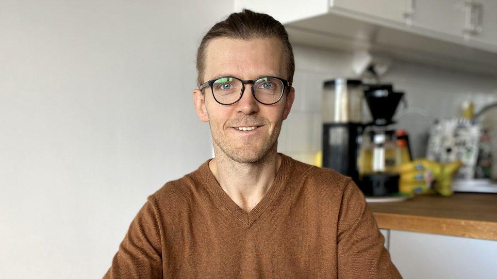 Porträtt av Andreas Ivarsson, hemarbetare