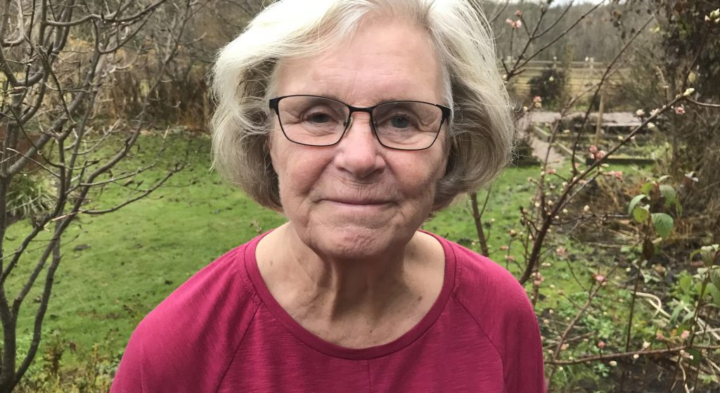 Lena Björklund, äldre som börjat använda internet mer under pandemijn