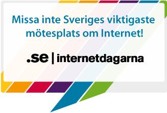 Missa inte Sveriges viktigaste mötesplats om internet! IIS   internetdagarana